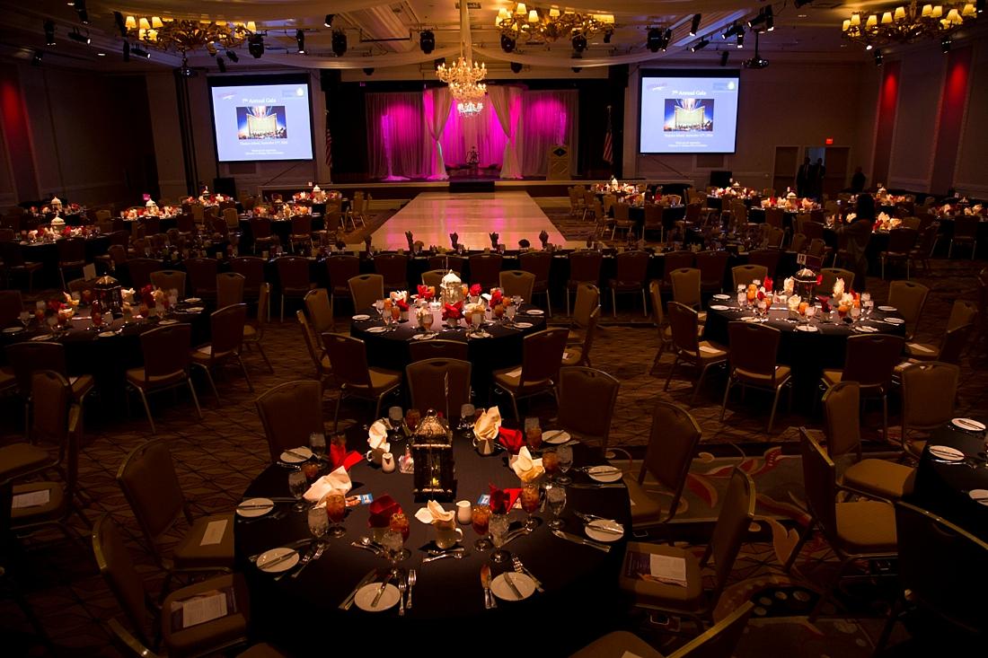 The Treasure Island Ballroom was the perfect venue to host the event.