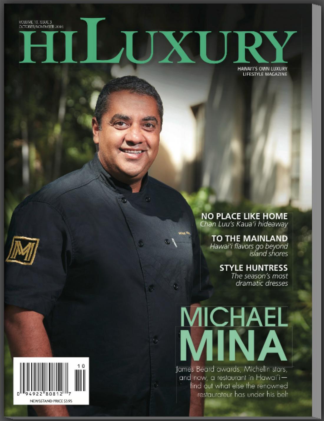Hawaii Luxury Magazine, October/November 2016